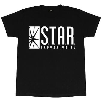 The Flash Mens Star Labs T-Shirt