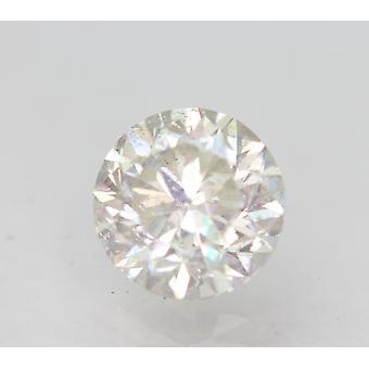 Sertifioitu 1,51 karat H SI1 pyöreä brilliant parannettu luonnollinen löysä timantti 7mm