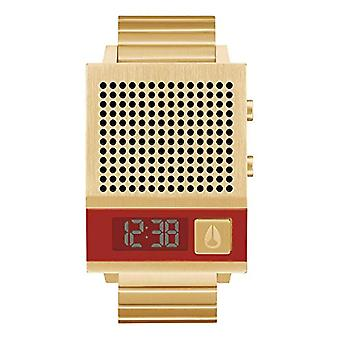 Nixon Men's Digital Watch with Stainless Steel Strap A1266-502-00