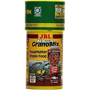 Alleinfutter für kleine Aquarienfische, Granulat, NovoGranoMix