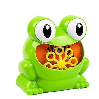 היפופוטם צפרדע מכונת בועת צפרדע עם יצרנית בועה לילדים az9638