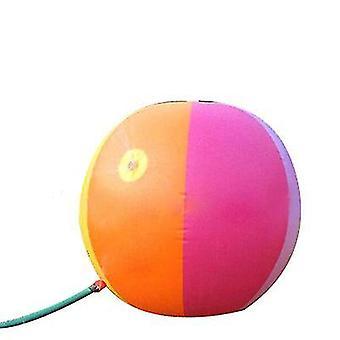 6 Cores inflável sprinkler bola de água ao ar livre brinquedo divertido para festa quente de verão x1107