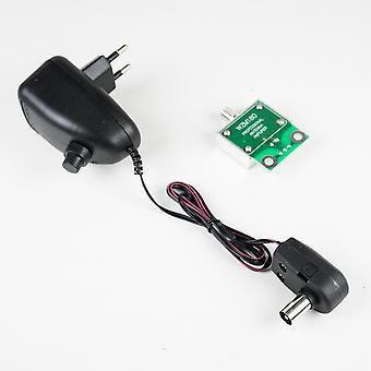 Antenne PNI ATD 23S DVB-T TV avec amplificateur 10-20 dB, pour signal TV numérique, UHF, 29 éléments, noir