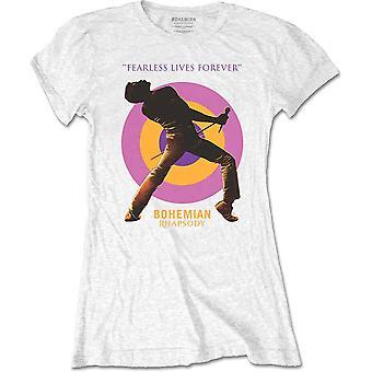 Queen - Fearless Women's Small T-Shirt - Blanc