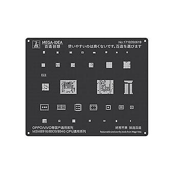QianLi MEGA-IDEA - BGA Stencil - MSM8916/8939/8940 CPU for OPPO/VIVO Series - QL04