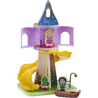 Playset della Torre di Legno della Principessa Disney Rapunzel
