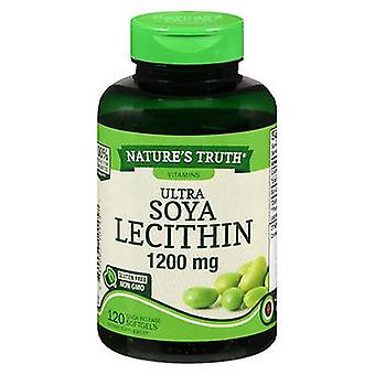 Nature's Truth Nature'S Truth Ultra Soya Lecithin Quick Release Softgels, 1200 mg, 120 Caps