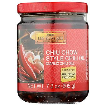Lee Kum Kee Oil Chili Chiu Chow, Case of 6 X 7.2 Oz