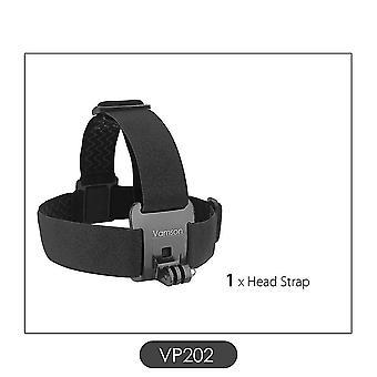 جديد vp202 حزام الرأس حزام جبل قابل للتعديل ل gopro sm36908