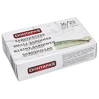 Sardiner i olje Dontapas