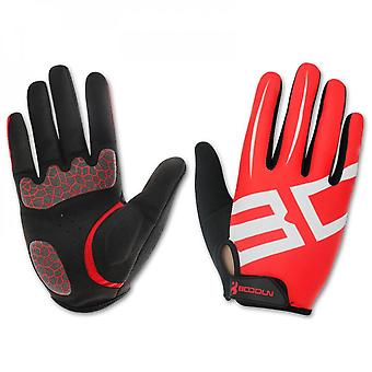 Bicycle Gloves Outdoor Sports Factory Lycra Long Finger Gloves Cycling Gloves