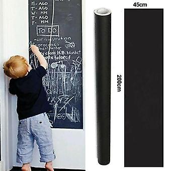 45*200CM Blackboard Chalkboard Wall Stickers Removable For Kids / Office