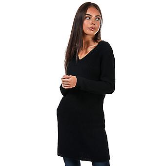 Vestido de jersey Melton Life solo para mujeres en negro