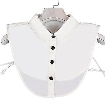 profesjonell falsk krage avtakbar bluse tips nakke halv skjorter
