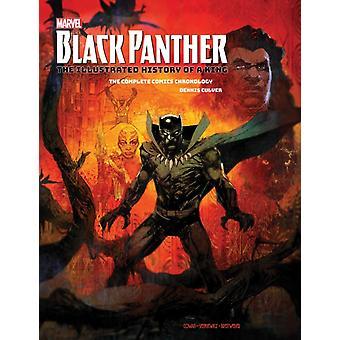 Marvels Black Panther Die illustrierte Geschichte eines Königs Die komplette Comics Chronologie von Dennis Culver