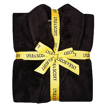 Lyle and Scott Lucas Dressing Gown - Black
