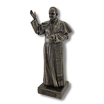 Bronzed Pope Francis Bishop of Rome Statue