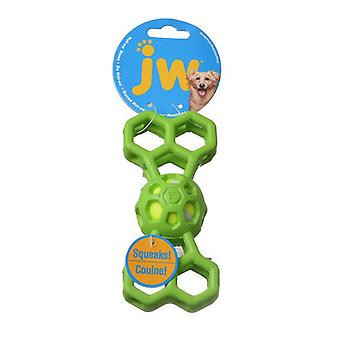 """JW Pet Hol-ee Bone with Squeaker - Small - 6.5"""" Long - (Assorted Colors)"""