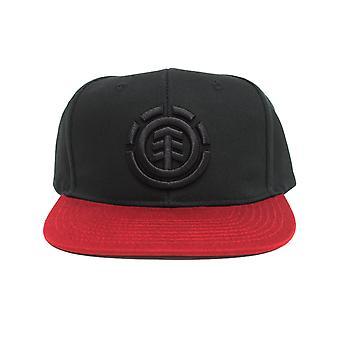 Chapeau de maille d'icône d'élément dans le rouge de cru