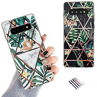 Samsung Galaxy S10 - Coque / Protection / Géométrique