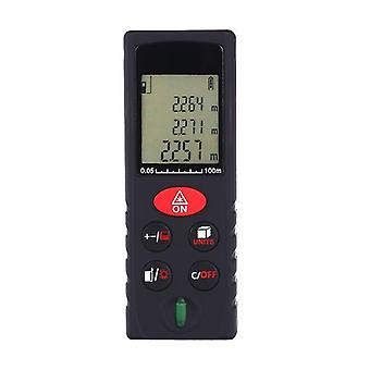 Advanced Laser Rangefinder Distance Meter   Range 0.05 ~ 40m / � 2mm With Lcd Backlight Dust And