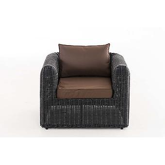 Gartenmöbel - Gartenmöbel - Loungemöbel - Modern Schwarz 86 cm x cm x 62 cm