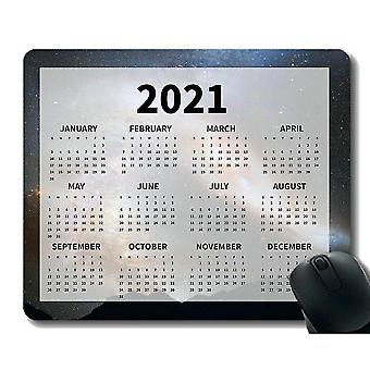 Keyboard mouse wrist rests 260x210x3 calendar 2021 year mouse pad saturn equinox planet rings space cosmos universe soft
