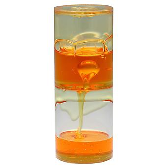 Holiday ornament displays stands ooze gunk jelly motion drop tube - choose from 3 colours … orange