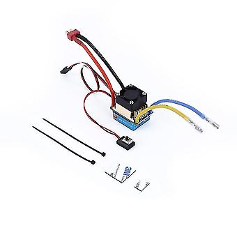 Power control units waterproof brushed esc 320a 3s with fan 5v 3a bec t-plug for 1/10 rc car