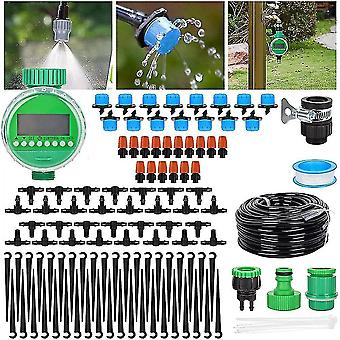 Garden hose fittings valves automatic drip irrigation kit with timer  irrigation system automatic  diy garden irrigation system