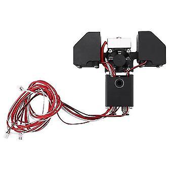 3D-Drucker Zubehör 2in1 Extruder Hot End Upgrade Umbausatz Adapter 1,75 mm Verbrauchsmaterialien für
