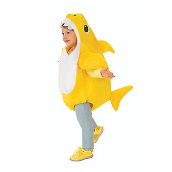 New Children's Style Shark Clothing Children Halloween 3 Color Role Playing Clothing