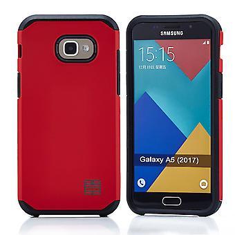 32. Slim Armour Case für Samsung Galaxy A5 2017 - rot