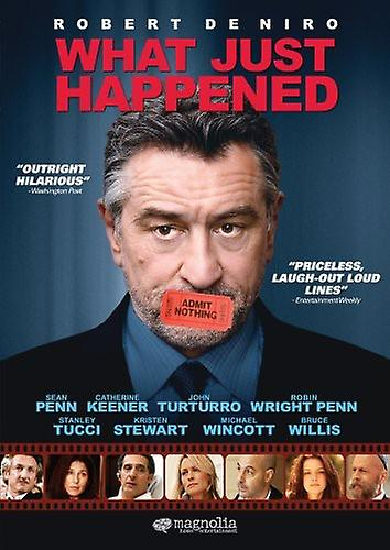 What Just Happened [DVD] USA import