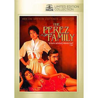 Perez Family [DVD] USA import