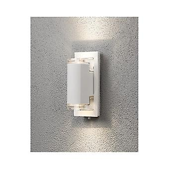 LED ウォール ライト ダウンを Konstsmide ポテンザ ホワイト ガーデン