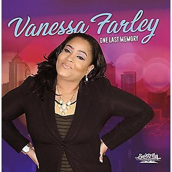 Vanessa Farley - importation USA un dernier souvenir [CD]