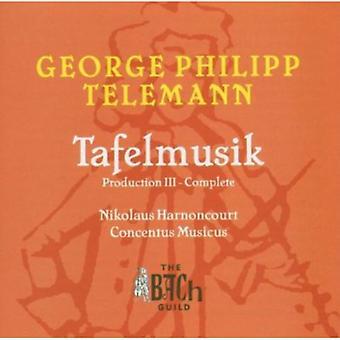 G.P. Telemann - George Phillip Telemann: Tafelmusik Production III - Complete [CD] USA import