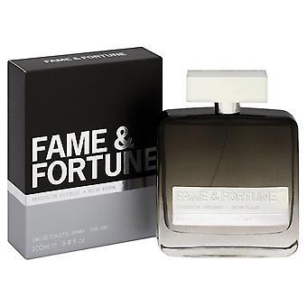 Fame & Fortune Eau de Toilette 100ml EDT Spray