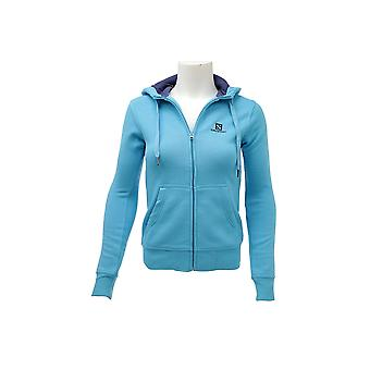 Camiseta Salomon logotipo FZ Hoodie 353486 Womens