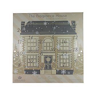 Tyyli & Grace lähtölaskenta Advent kalenteri 24 x teen valo kynttilöitä + 1 x lasi kynttilälyhty