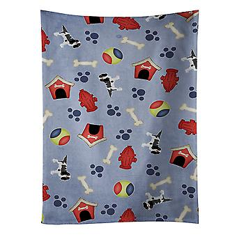 Dog House Collection Cavalier King Charles Spaniel Tricolor Kitchen Towel