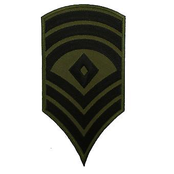 Military Ranked Army Chevrons Badge Patch