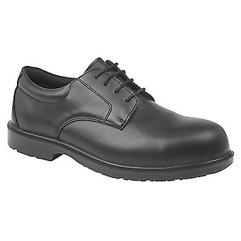 Grafters Mens Uniform Fully Composite Non-Metal Safety Brogues