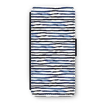 iPhone 5c Flip Case - überraschend Linien