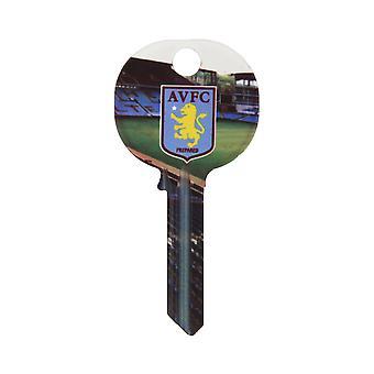 Aston Villa FC Official Football Design Key Blank
