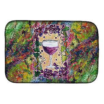 Carolines Treasures  8616DDM Wine Dish Drying Mat