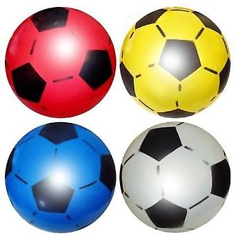 120 uninflated plast fotballer 22,5 cm