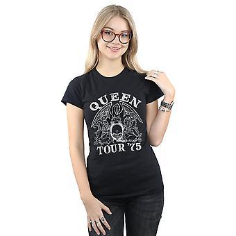 Drottning kvinnors tur 75 Crest T-Shirt