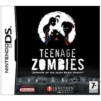 Teenage zombies invasion av Alien Brain thingys! (Nintendo DS)-fabriken förseglad